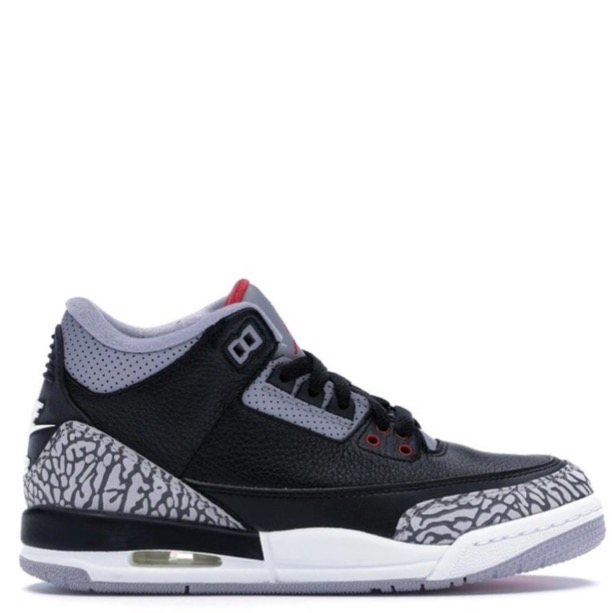 Rent Jordan 3 Retro Black Cement (2018) sneaker