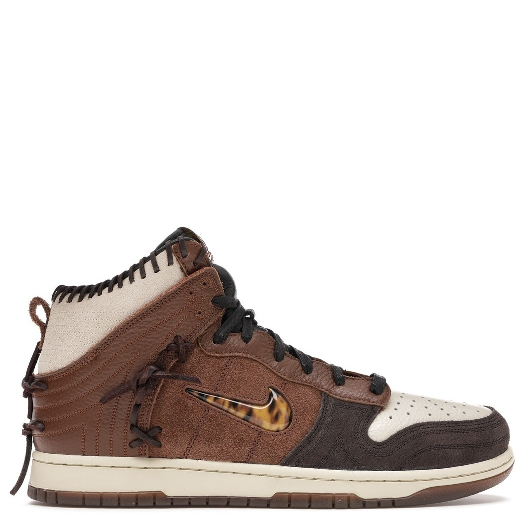 Rent Nike Dunk High Bodega Legend Fauna Brown sneaker