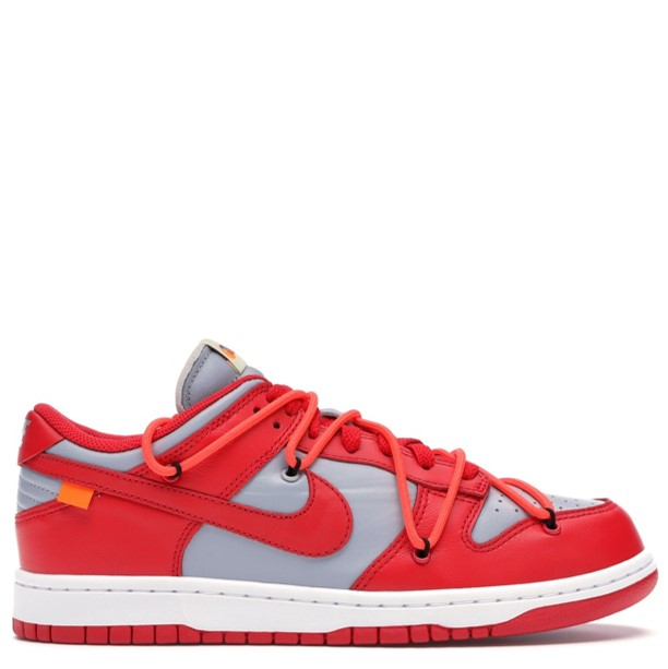 Rent Nike Dunk Low Off-White University Red sneaker